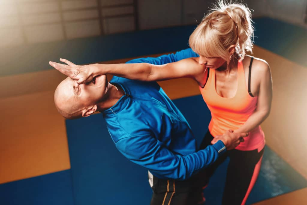 Woman-Attacking-Vulnerable-Parts-For-Self-Defense