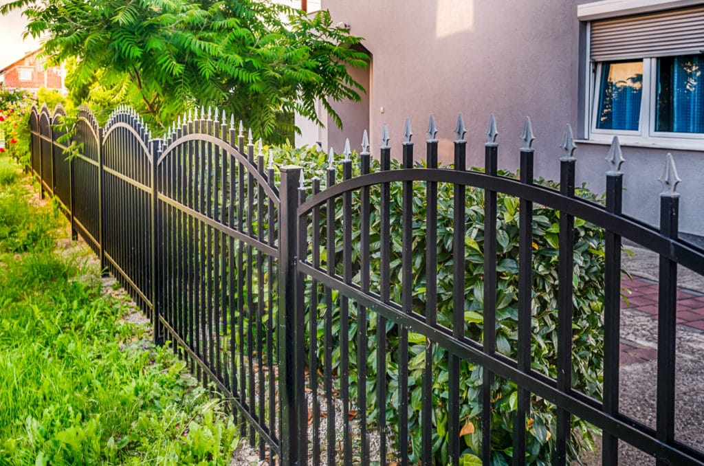 Protective-Fence to-Protect-Home-From-Burglary