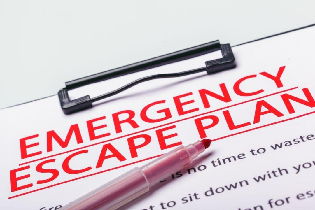 Emergency Escape Plan: How to and Where to Go